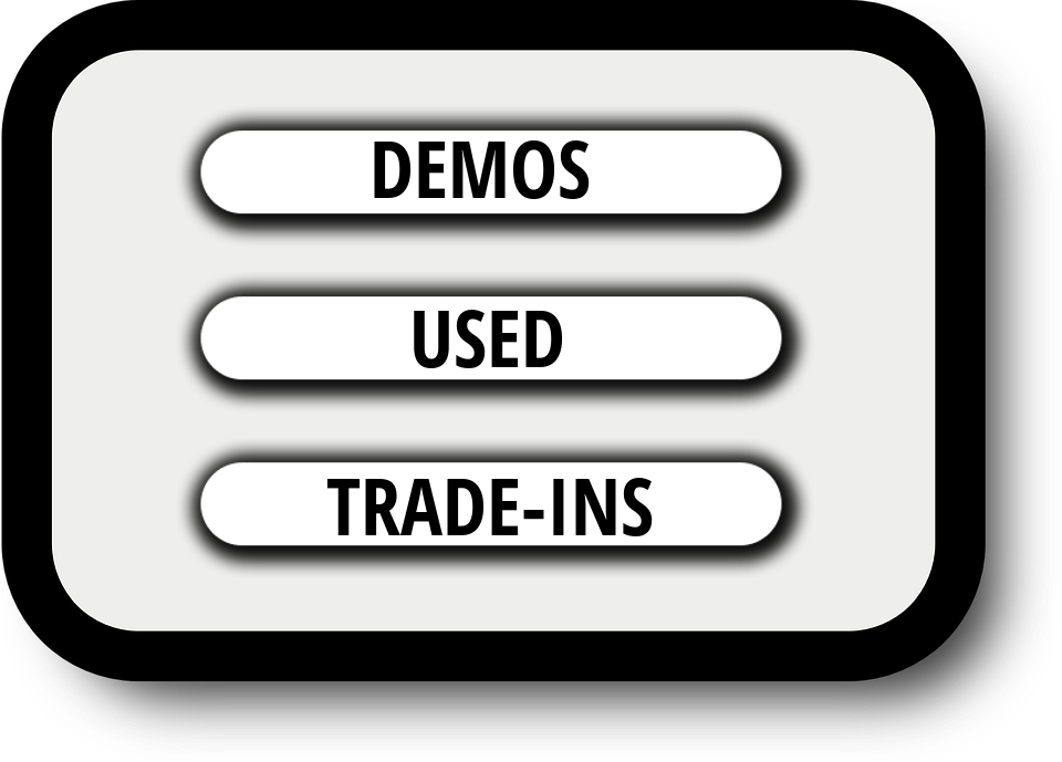 demo used tradein